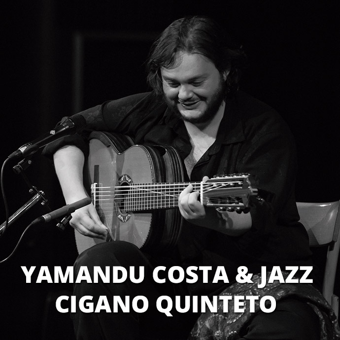 Yamandu Costa e jazz cigano quinteto - Jazz In